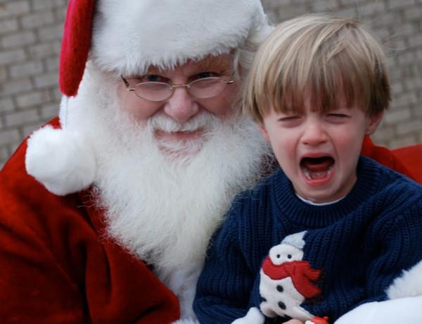 Medo do Papai Noel. Como lidar?