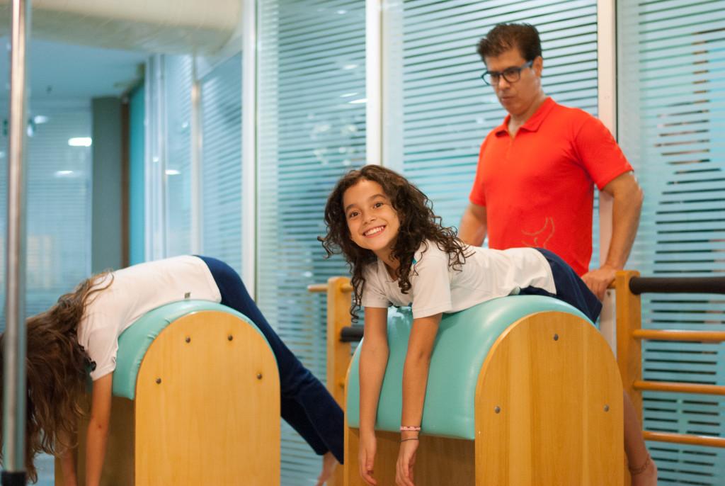 Pilates para crianças