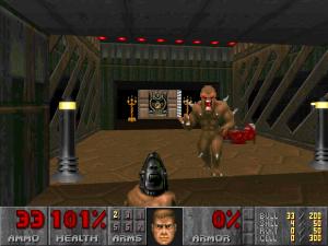 """Videogames e violência - """"Doom"""", um dos primeiros jogos a ser acusado de estimular a violência nos jovens."""