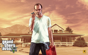Videogames e violência- Trevor, o psicopata do game Grand Theft Auto.