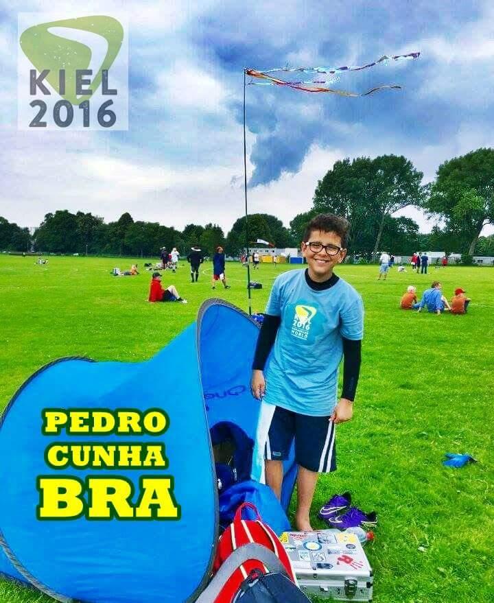 Pedro durante o Mundial na Alemanha.