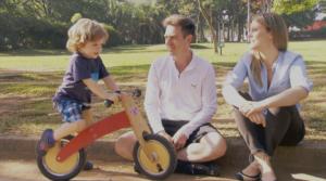 Andar de bicicleta - Pais em Apuros