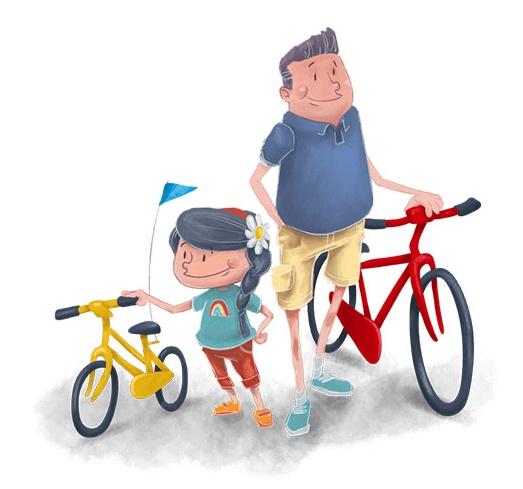 levar os filhos de bicicleta para a escola - Pais em Apuros!