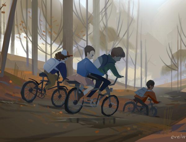 Seu filho quer ir de bicicleta para a escola. E agora?