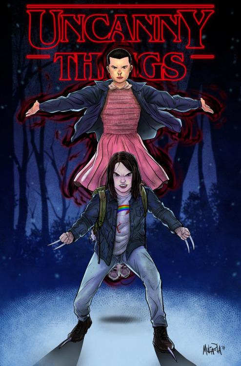 Logan e Stranger Things - Pais em Apuros!