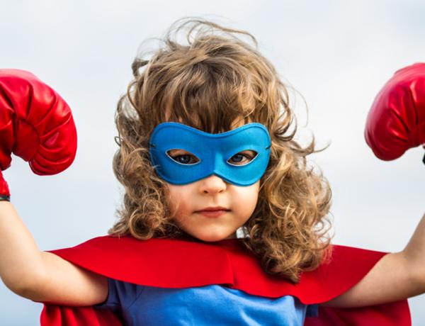 Super-heróis também são para meninas!