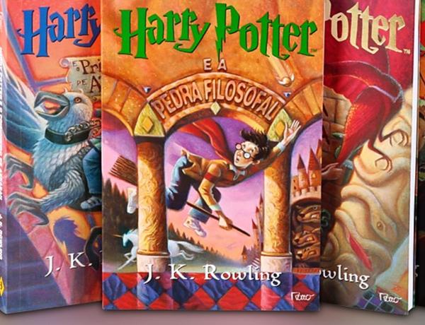 """""""Filha, chegou a sua vez de ler Harry Potter!"""""""