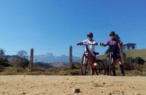 Dia dos pais - Pais ciclistas